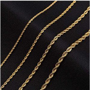 18k Gold Plated Chain